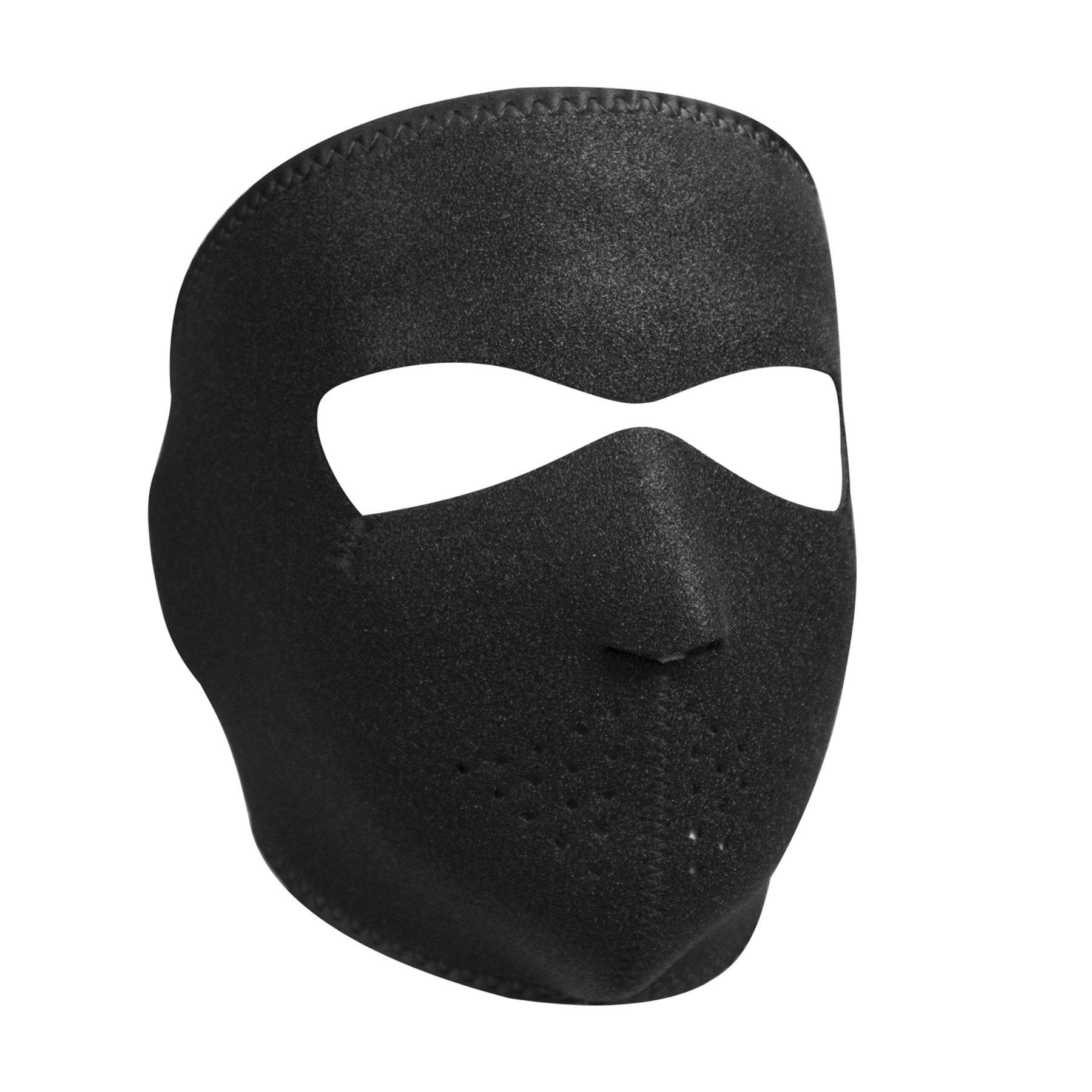 ZANheadgear WNFMV114 Neoprene Modi-Face Mask with Starter Pack, Adult Size, Black