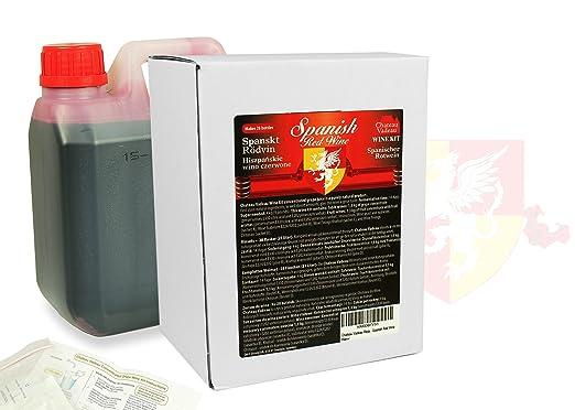 Chateau Vadeau Rioja Spanish Red Wine Wine Making Kit Makes 21