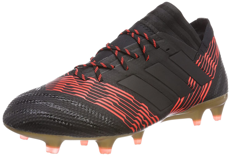 Adidas Nemeziz-17.1 FG Chaussures de Football Homme , Blanc/Noir, 43 1/3 EU BB6080