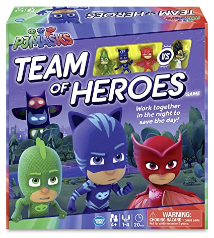 Card Game32 Picture CardsPJ MasksRavensburgerChildren/'s Game