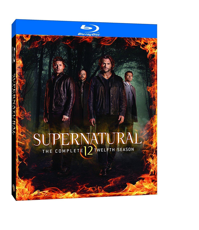 Supernatural Season 12 Bd S Blu Ray 2017 Region Free 1 Serial Tv Series Jared Padalecki Jensen Ackles Misha Collins Mark A Sheppard Pellegrino