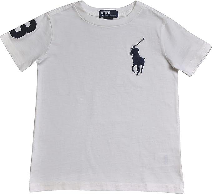 Polo Ralph Lauren - Camiseta de manga corta - para niño Bianco ...