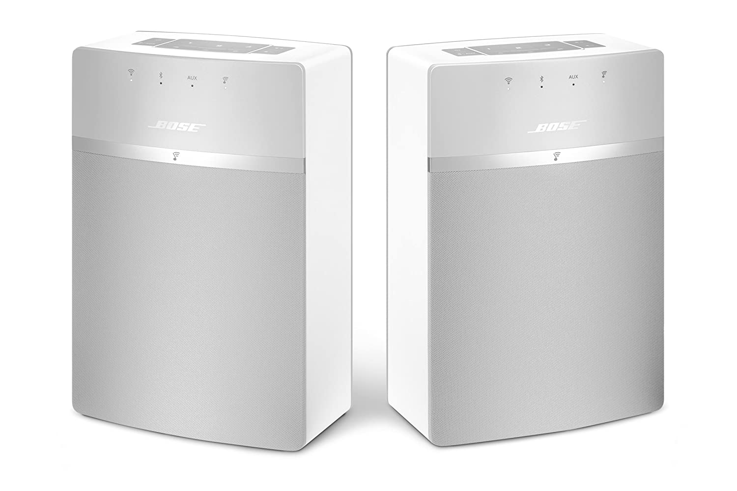 bose soundtouch 10. amazon.com: bose soundtouch 10 x 2 wireless starter pack, white: home audio \u0026 theater soundtouch