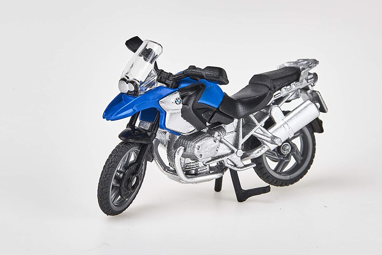 SIKU BMW R1200 GS Preassembled Motocicleta - Modelos de vehículos de Tierra (Preassembled, BMW R1200 GS, Motocicleta, Principiante, Negro, Azul, Acero ...