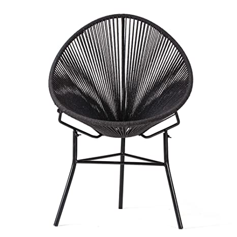 Admirable Madeleine Home Barton Jute Rope Accent Chair Amazon Co Uk Evergreenethics Interior Chair Design Evergreenethicsorg