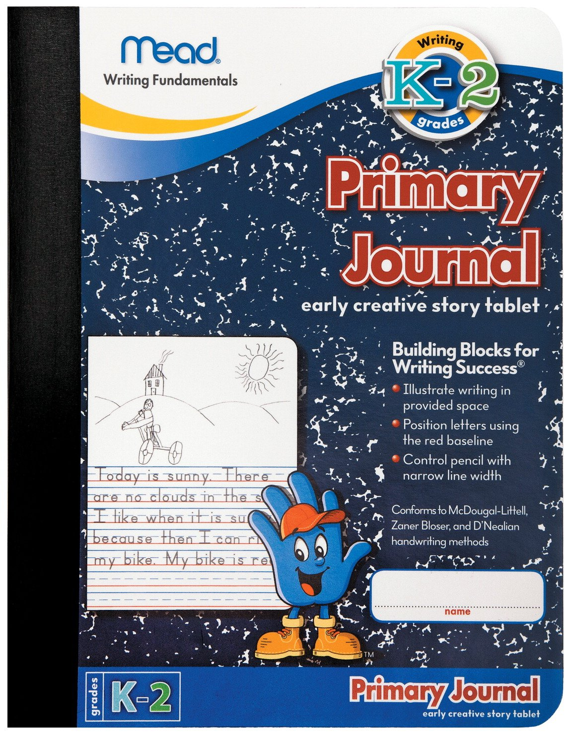 Amazoncom Mead Primary Journal K 2nd Grade Pack Of 12 Me 09956