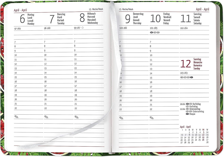 Agenda Settimanale 2020 Ladytimer Melone 10.7x15.2 cm