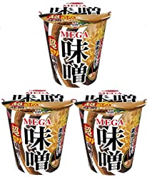 【Pack of 3 Cups】MEGA Rich Miso Flavor Ramen From Japan