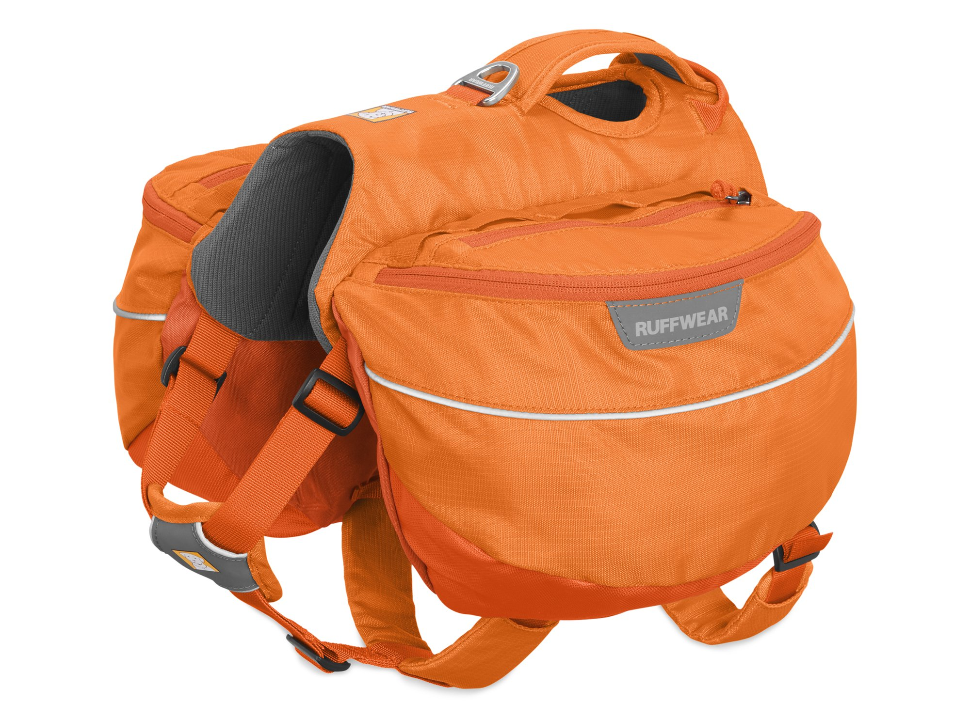 RUFFWEAR - Approach Full-Day Hiking Pack for Dogs, Orange Poppy, Medium by RUFFWEAR (Image #3)