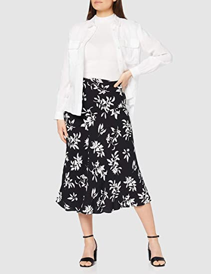 Womens High Waisted Midi Skirt find Brand