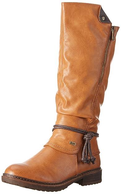 Rieker Damen 94758 Langschaft Stiefel  Amazon.de  Schuhe   Handtaschen d91608be5d