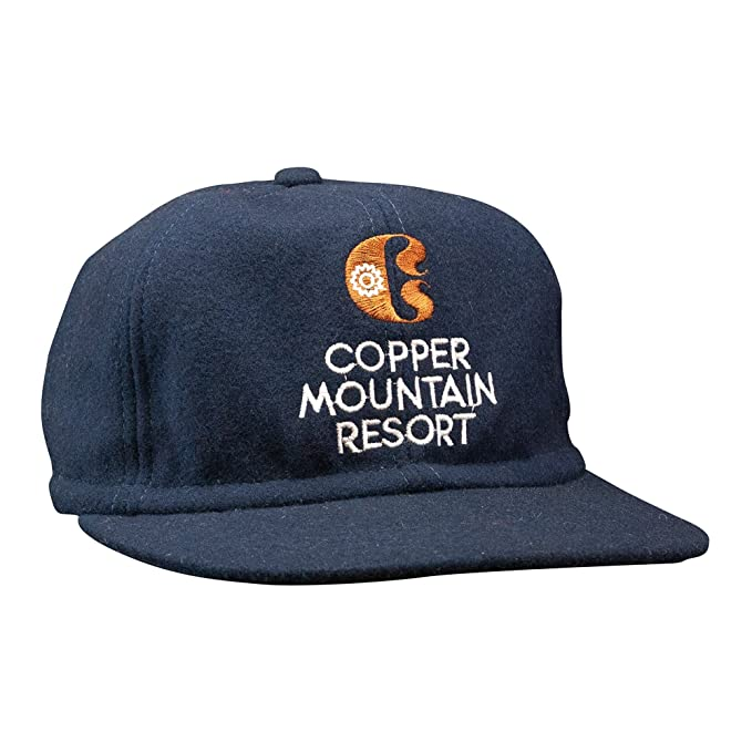 45d8ad1b763 Image Unavailable. Image not available for. Color  Copper Mountain Scrunch  Back Navy Hat ...