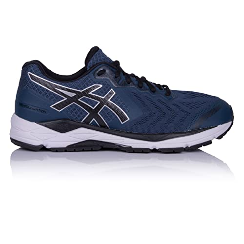 ASICS Uomo Gel Foundation 13 Scarpe da Ginnastica Corsa Sneakers Blu Sport