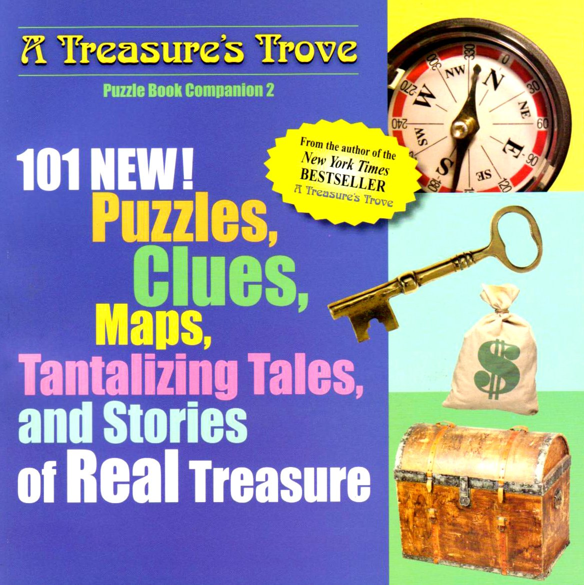 101 New Puzzles, Clues, Maps, Tantalizing Tales: And Stories of Real  Treasure (A Treasure's Trove): Michael Stadther: 9781416926559: Amazon.com:  Books