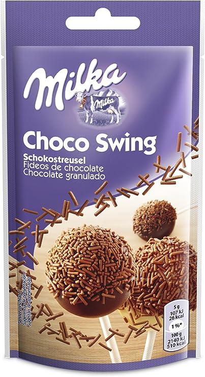 Milka chocolate covered pretzels(e 75g) (Pack de 4): Amazon ...