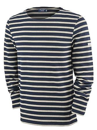 6725ce4da29255 Saint James Meridien - Streifenshirt - Bretagne-Shirts Marine Ecru ...