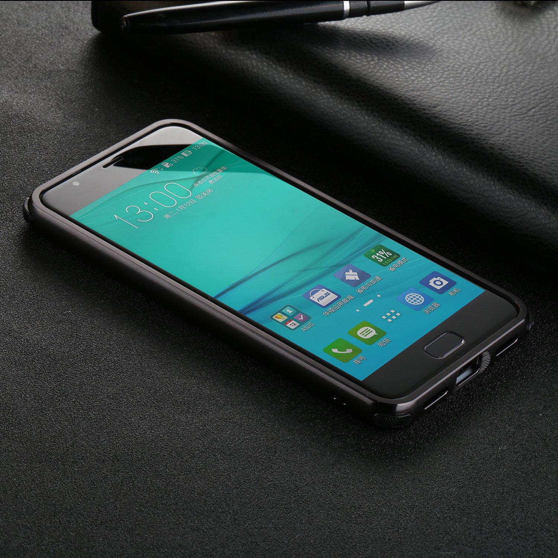 Ultra-Mince PC Arri/ère Housse Dual Material Bumper Case Cover de Protection pour ASUS ZenFone 4 Max ZC520KL SPAK ASUS ZenFone 4 Max ZC520KL Coque,Haute Qualit/é Aluminium M/étal Or Rose
