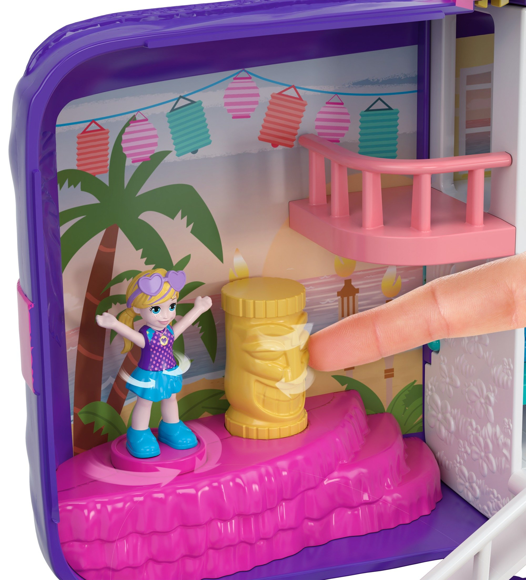 Polly Pocket Beach Vibes Figure, Multicolor by Polly Pocket (Image #2)