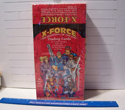 1991 COMIC IMAGES X-FORCE THE BEGINNING OF THE END TRADING