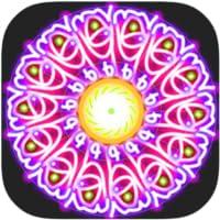 Glow Mandala Drawing and Spin