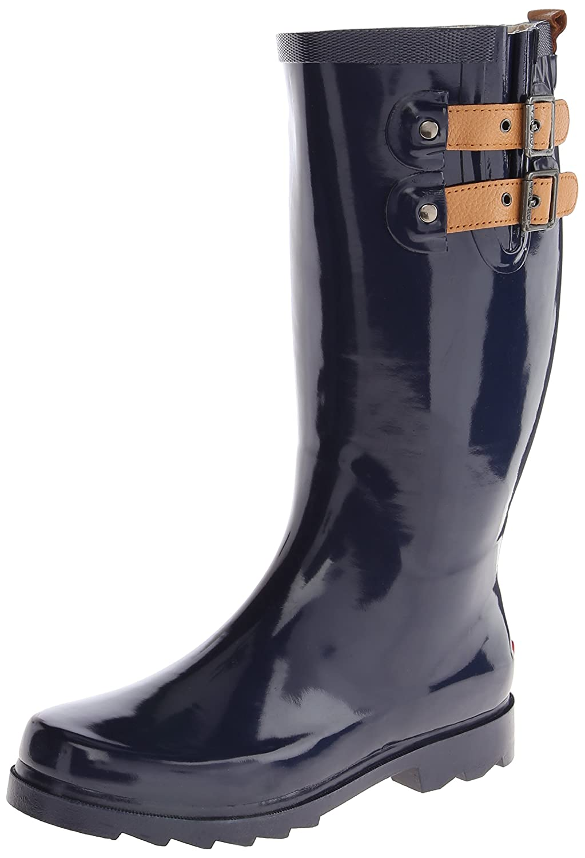 Chooka Women's Tall Rain Boot B00J57WIBS 6 B(M) US|Midnight