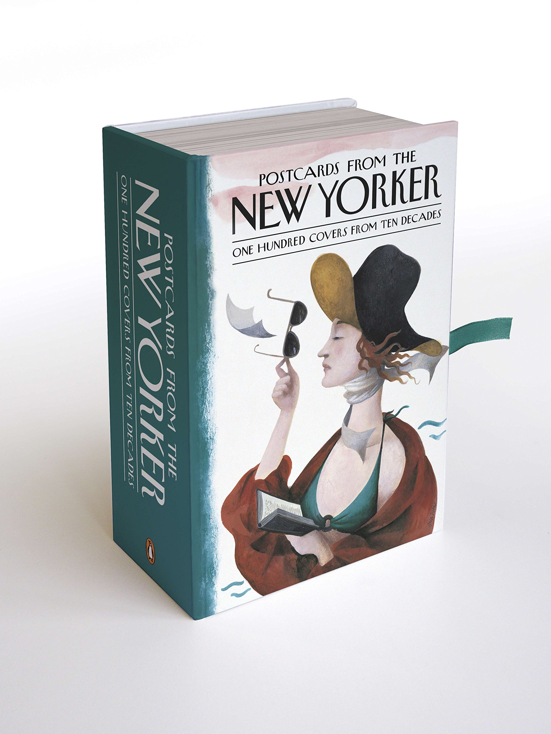 Postcards from the New Yorker: One Hundred Covers from Ten Decades by Penguin Books (Image #1)