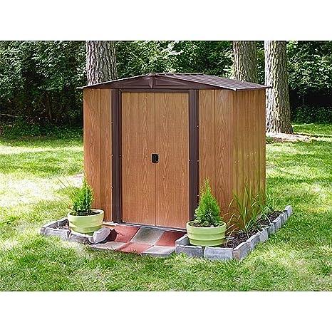Arrow metal de dispositivo Casa Kiel 65 Jardín Casa Caseta 2,66 m² imitación de