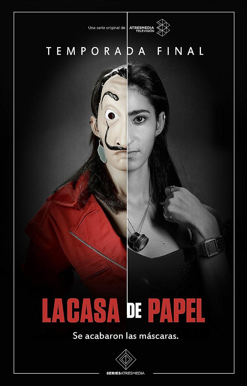 Amazon.com: GZSGWLI La Casa de Papel 3 TV Show Art Print ...