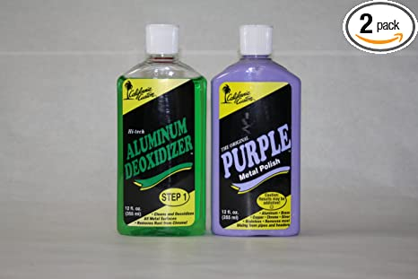 Amazon com: California Custom Products Purple Metal Polish