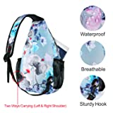 MOSISO Sling Backpack,Travel Hiking Daypack Pattern