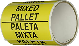 TapeCase SHIPLBL-108-50'Mixed Pallet/Paleta Mixta' Label - 50 per pack
