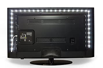 Luminoodle Bias Lighting for HDTV | Medium | Bright White US...