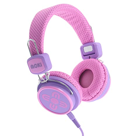 6c820765468 Image Unavailable. Image not available for. Color  Moki ACCHPKSPP Kid Safe  Volume Limited Headphones ...