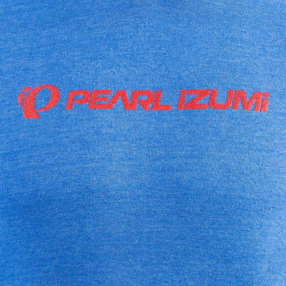 Medium PEARL IZUMI Mens Cycling Pullover Hoodie Static Logo Pacific Blue