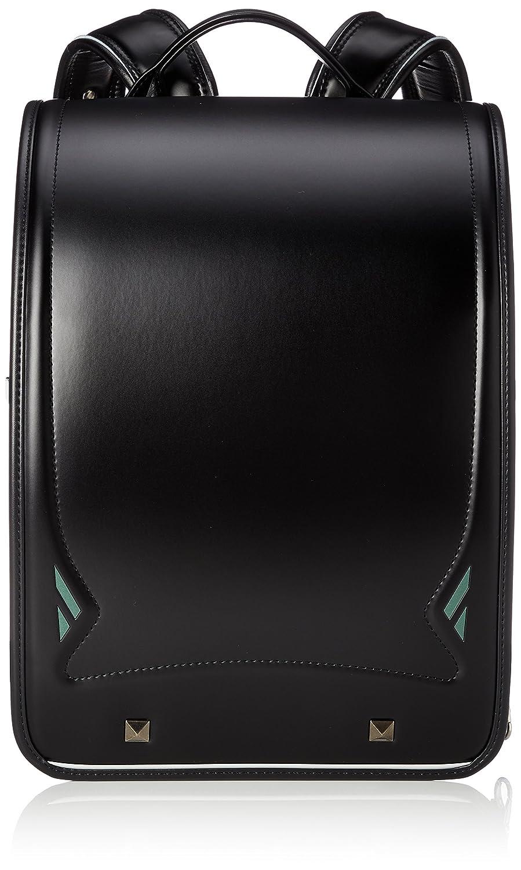 [ふわりぃ] 【公式】ランドセル Royal Collection 2019年度モデル 男児 05-35000 B07BSNJKW8 ブラック×エバーグリーンコンビ ブラック×エバーグリーンコンビ