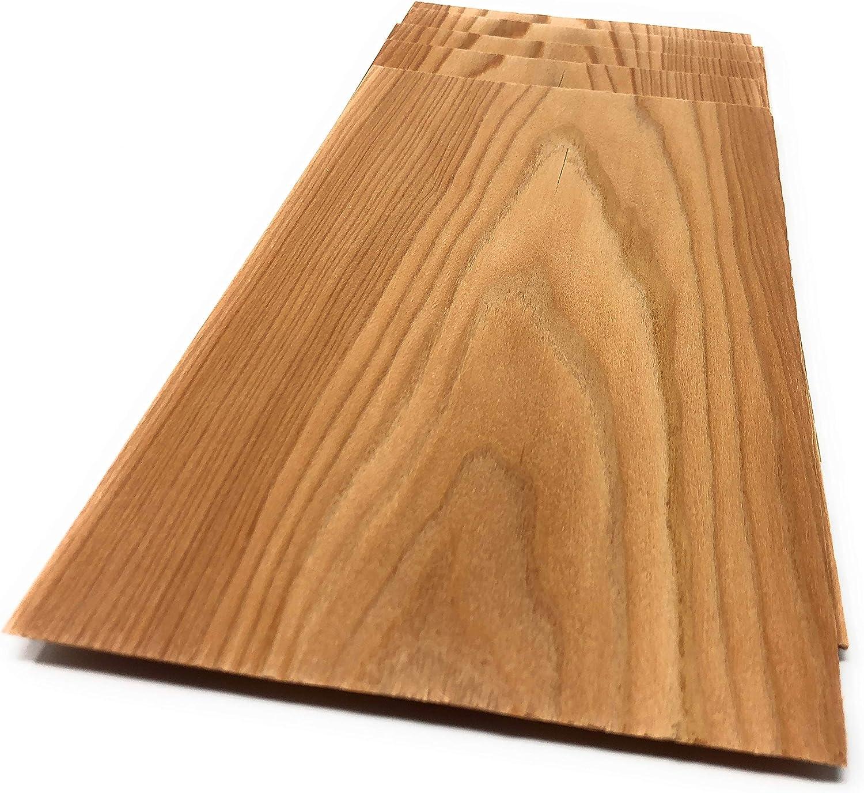 L/ärche 1,4mm Holzfurnier Starkfurnier S/ägefurnier in der Holzart L/ärche Geeignet f/ür viele Furnierarbeiten wie Modellbau; Restauration Holz zum Basteln