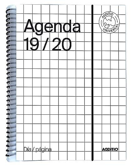 Agenda Universal 2019-20 Día Página Additio