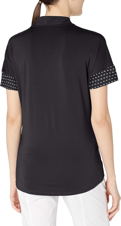 adidas - Ultimate365 Printed Polo Shirt, Polo Donna Nero