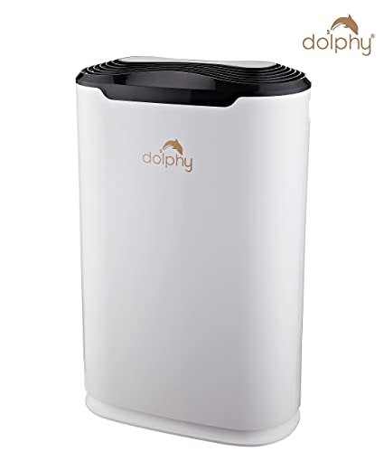 4457a5d275 Dolphy 45W Air Purifier with HEPA Filter (White)  Amazon.in  Home   Kitchen
