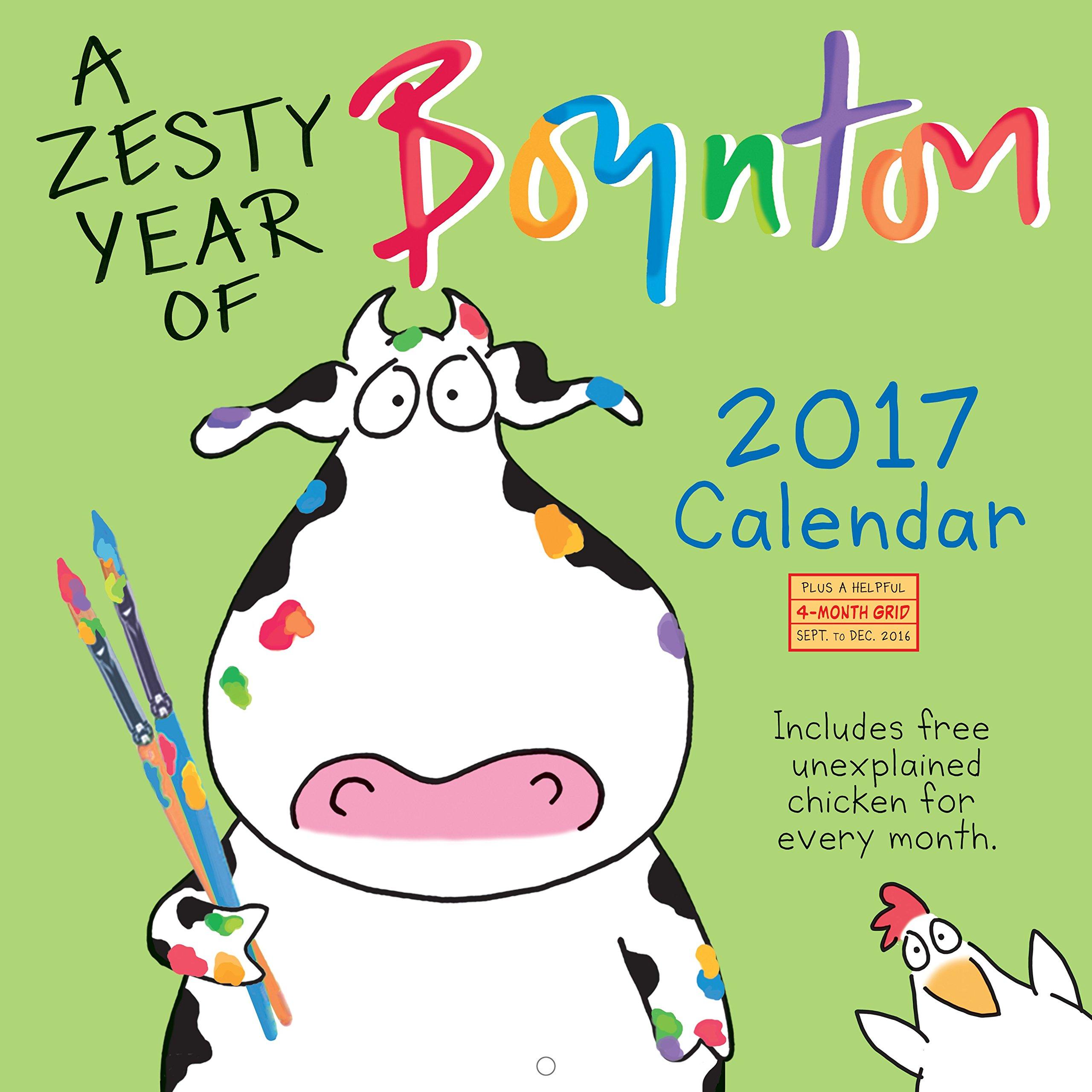 Zesty Year Boynton Wall Calendar