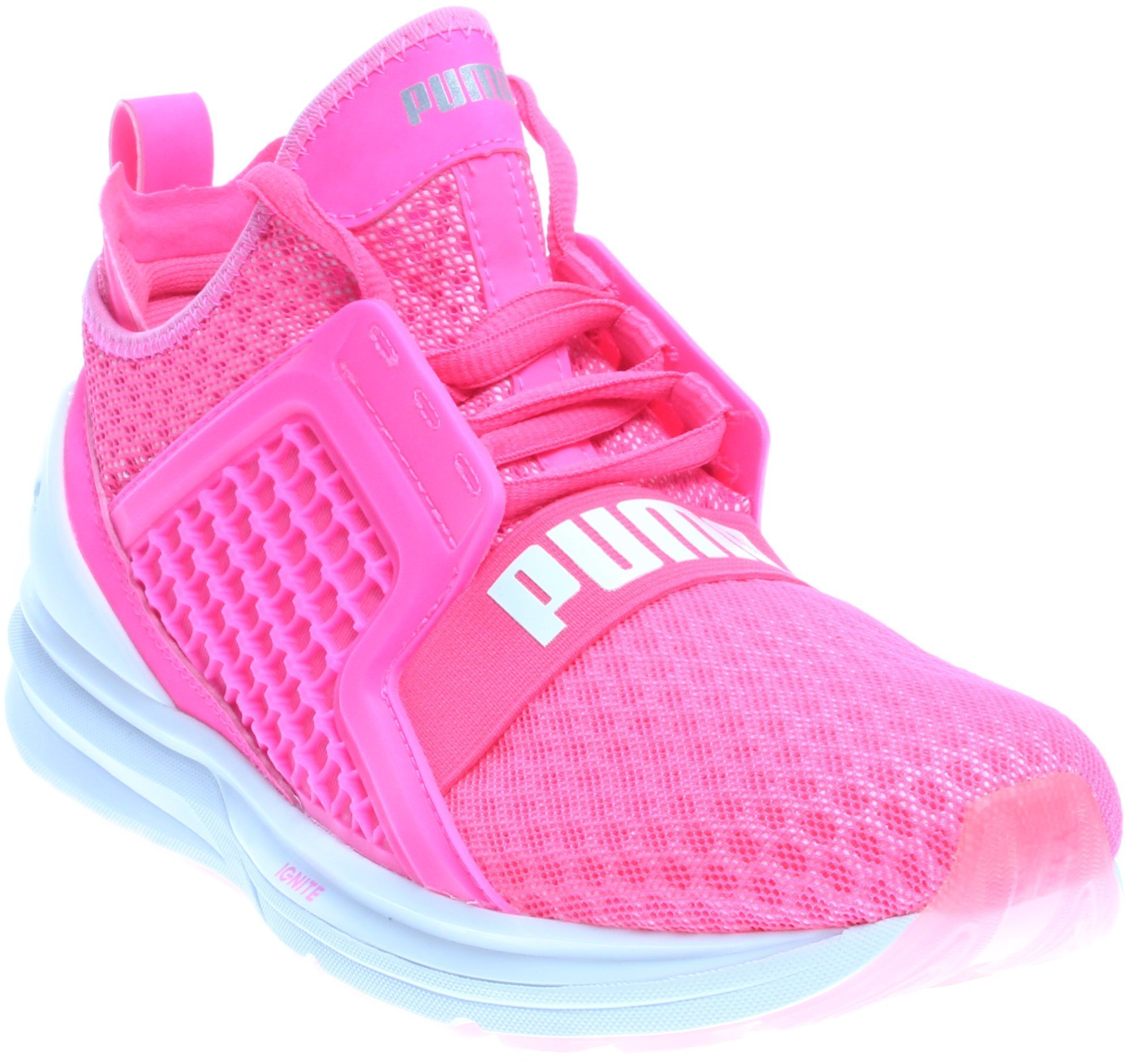 PUMA Women's Ignite Limitless WN's Cross-Trainer Shoe, Knockout Pink, 10 M US