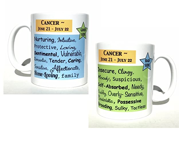 Amazon Cancer Astrology Coffee Mug