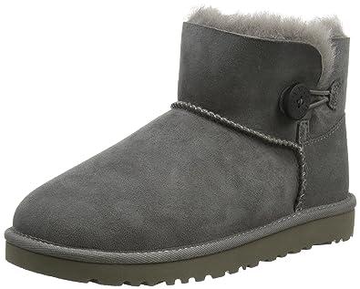 Ugg Herren, , mini bailey button, grau (grey), 30: Amazon