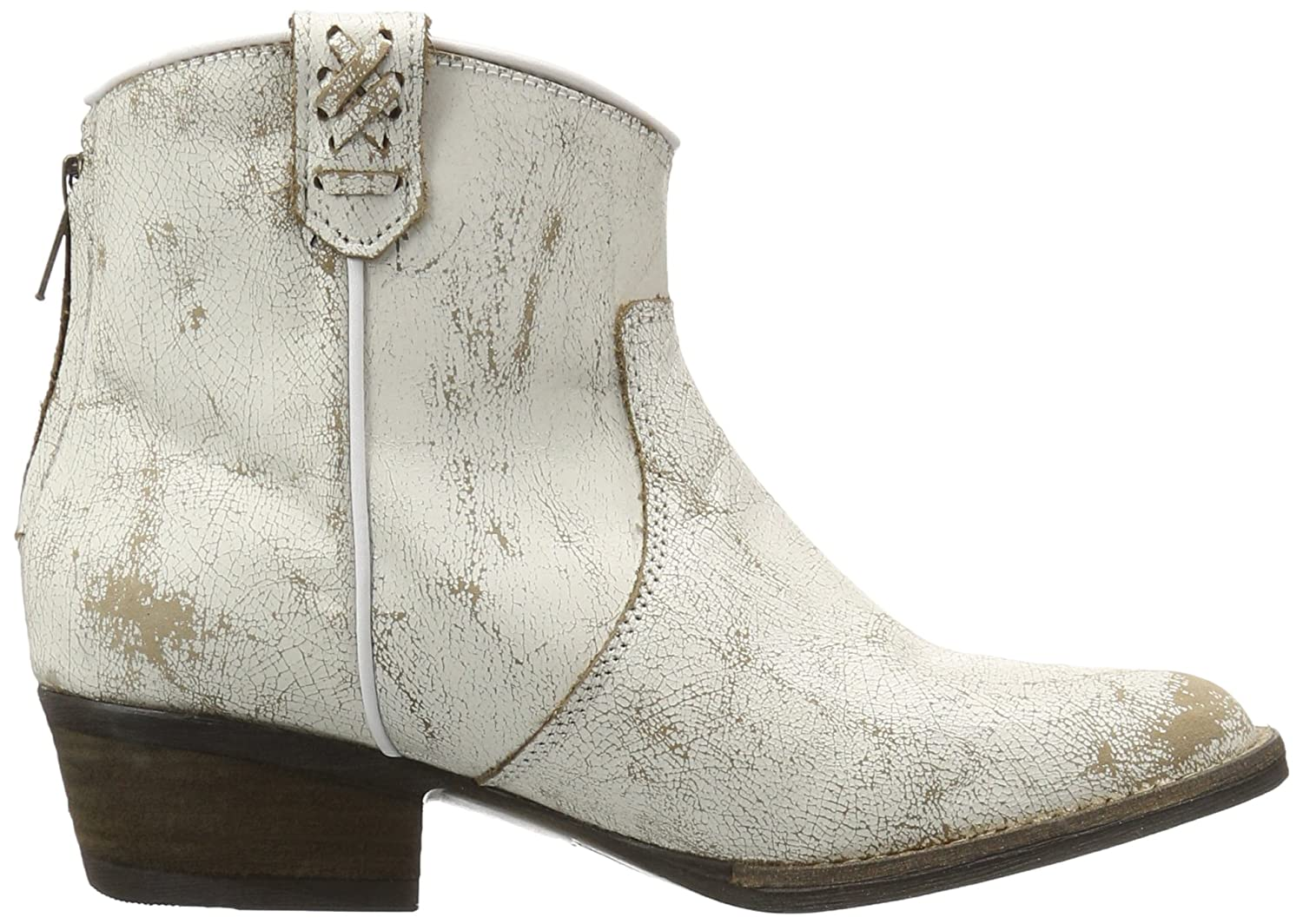 Very Volatile Women's Lookout Western Boot B01DX5OHG6 6 B(M) US|Off White