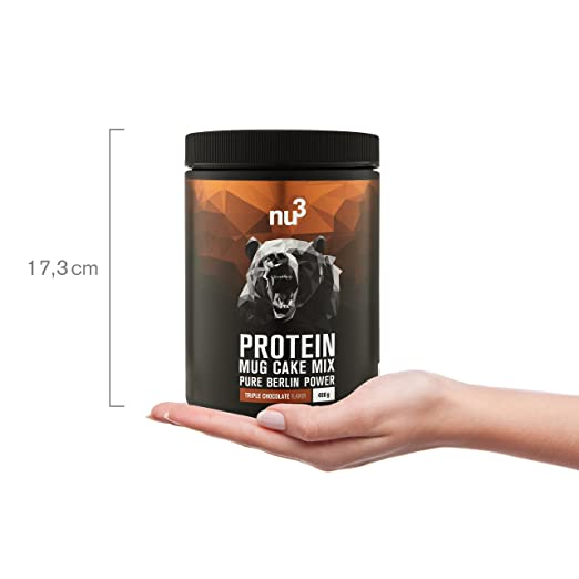 nu3 Pancakes con proteína | 400g de mezcla para tortitas sabor neutral| 28g de proteína de leche por porción | Perfecto como desayuno rápido y nutritivo ...