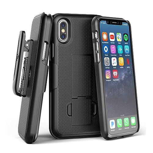 iphone x case with belt clip. Black Bedroom Furniture Sets. Home Design Ideas