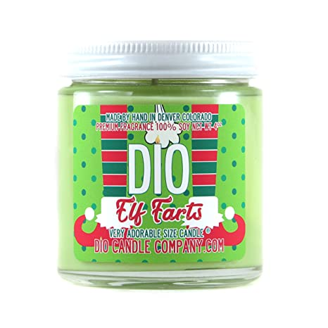 Marvelous Adorable Size Candle Elf Farts Funny Christmas Cookies Candle 4Oz Machost Co Dining Chair Design Ideas Machostcouk