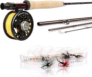 RUNCL Fly Fishing Rod & Reel Combo