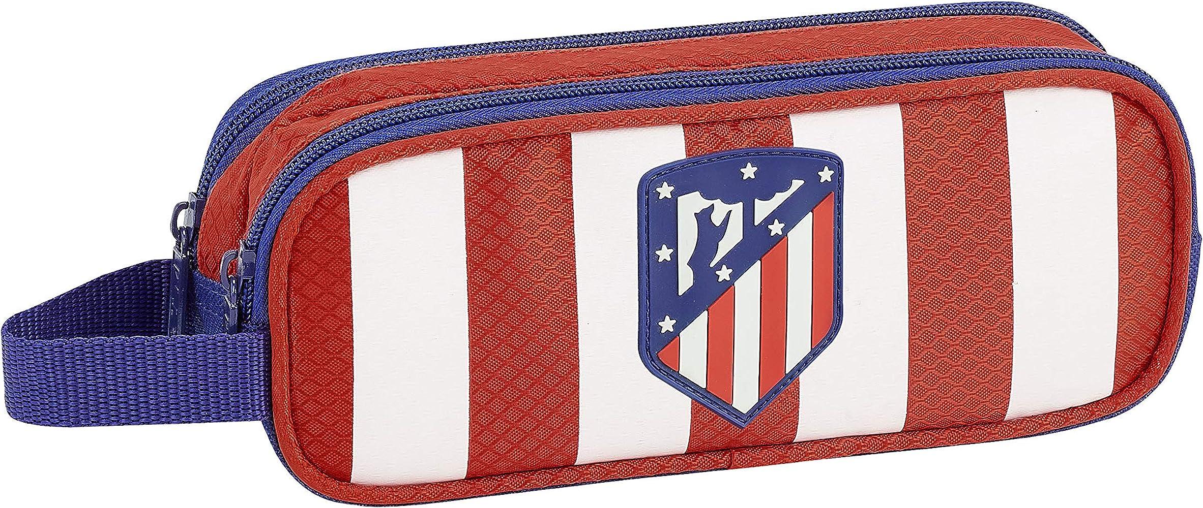 Club Atlético de Madrid Estuche, Niños, Roja, 21 cm: Amazon.es: Ropa y accesorios