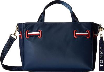 fefb4f0103 Tommy Hilfiger Women's Shelly Mini Shopper Tommy Navy One Size ...